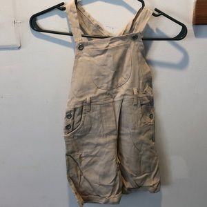 Other - Tan Overalls